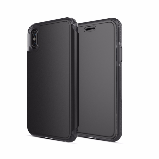 Image of   SoSkild Defend Wallet Case iPhone X Black