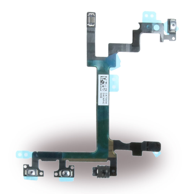 Image of   Spare Part Apple - Flex Cable On/Off Powerbutton Module + Volume - Apple iPhone 5