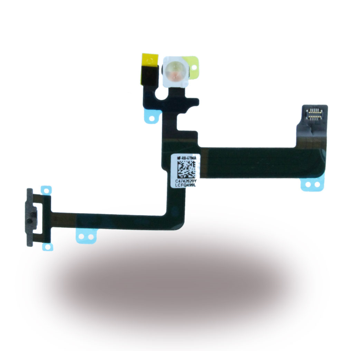 Image of   Spare Part Apple - Flex Cable On/Off Powerbutton Module + Microphone - Apple iPhone 6 Plus