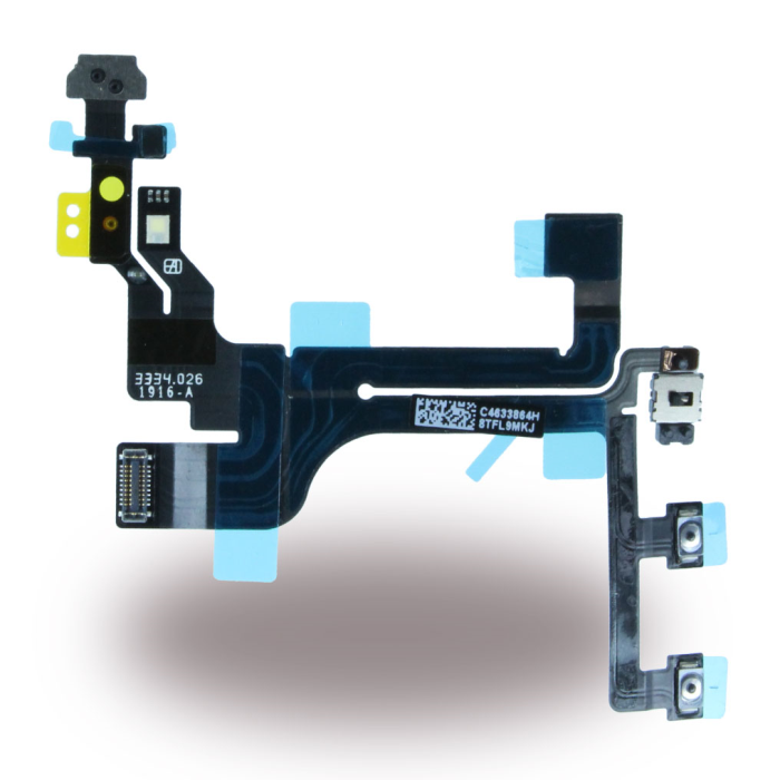 Image of   Spare Part Apple - Flex Cable On/Off Powerbutton Module + Volume + Microphone - Apple iPhone 5 C