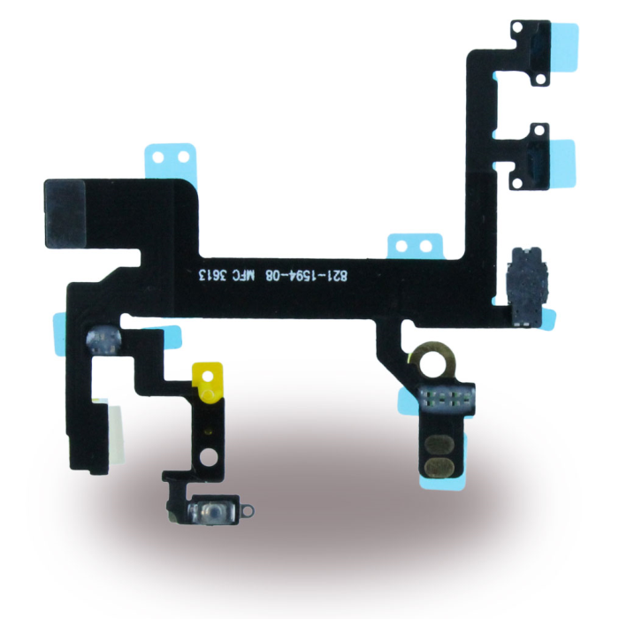 Image of   Spare Part Apple - Flex Cable On/Off Powerbutton Module + Volume + Microphone - Apple iPhone 5 S