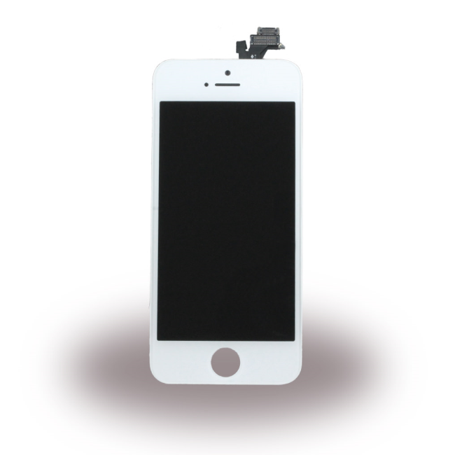 Spare Part Apple - LCD Display + Touch Full Set - Apple iPhone 5 - White