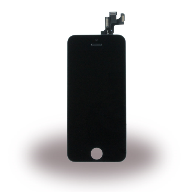 Spare Part Apple - LCD Display + Touch Full Set - Apple iPhone 5S - Black