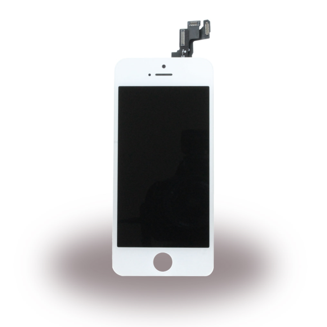 Image of   Spare Part Apple - LCD Display + Touch Full Set - Apple iPhone 5S - White