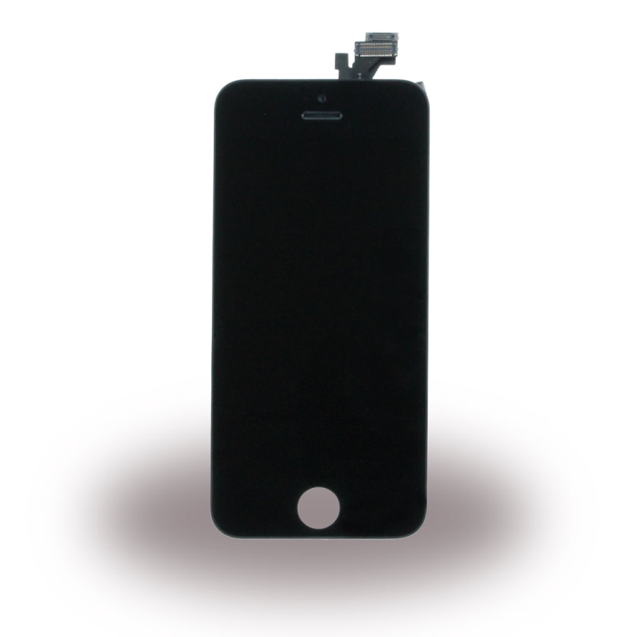 Image of   Spare Part Apple - LCD Display + Touch Full Set - Apple iPhone 5 - Black