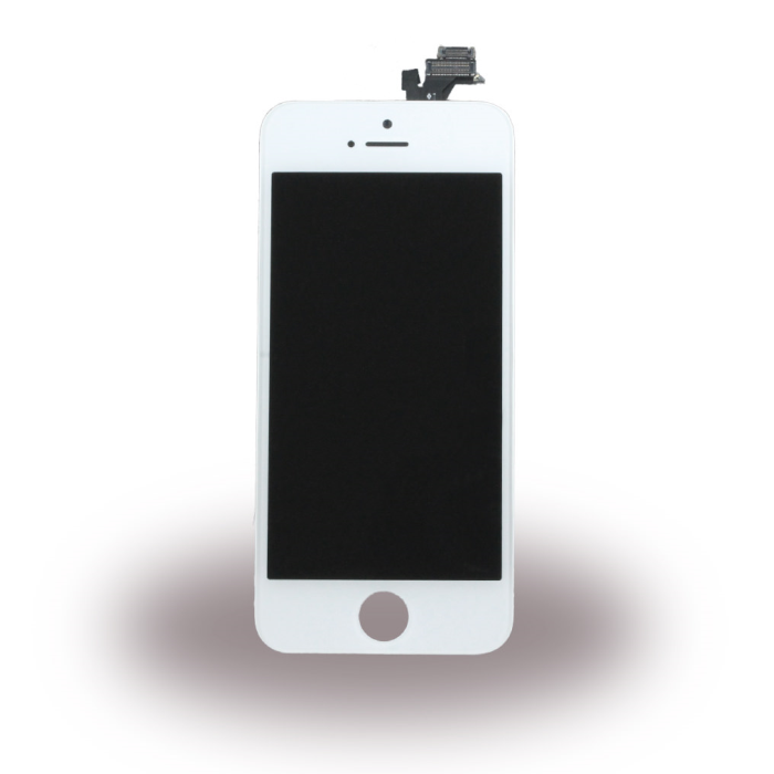 Image of   Spare Part Apple - LCD Display + Touch Full Set - Apple iPhone 5 - White