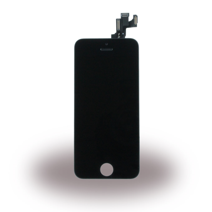 Image of   Spare Part Apple - LCD Display + Touch Full Set - Apple iPhone 5S - Black