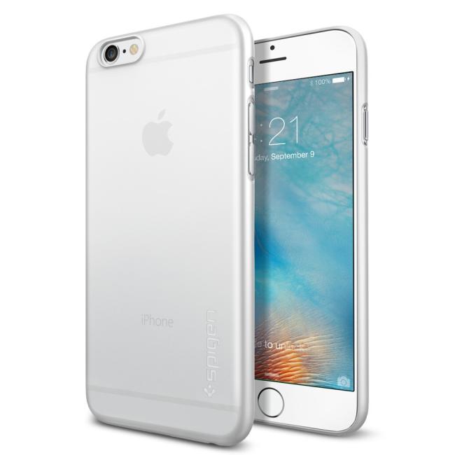 Image of   Spigen Air Skin cover til iPhone 6/6S Gennemsigtig