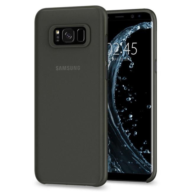 Image of   Spigen Air Skin cover til Samsung Galaxy S8 Sort