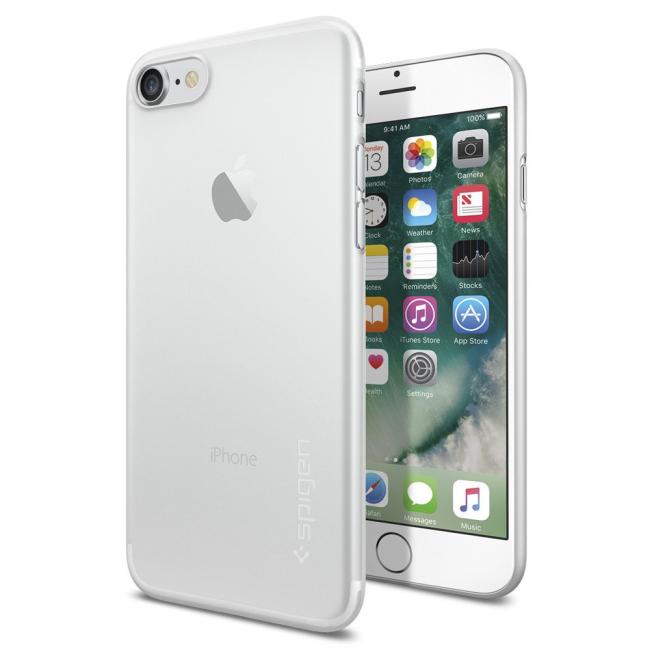 Billede af Spigen Air Skin for iPhone 7 soft clear