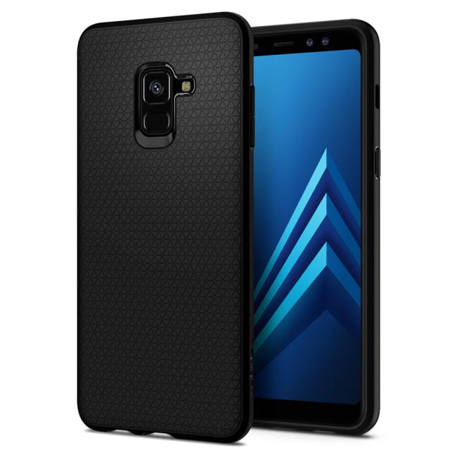 Image of   Spigen Liquid Air cover til Samsung Galaxy A8 (2018)
