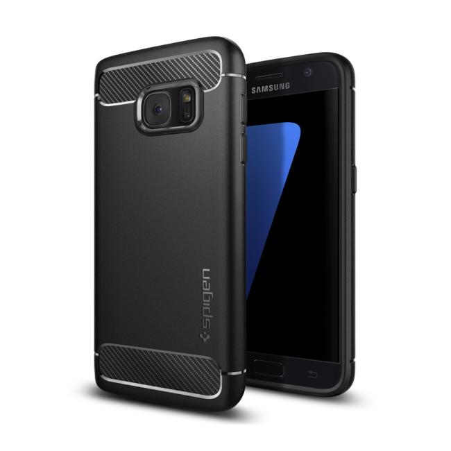 Image of   Spigen Rugged Armor cover til Samsung Galaxy S7