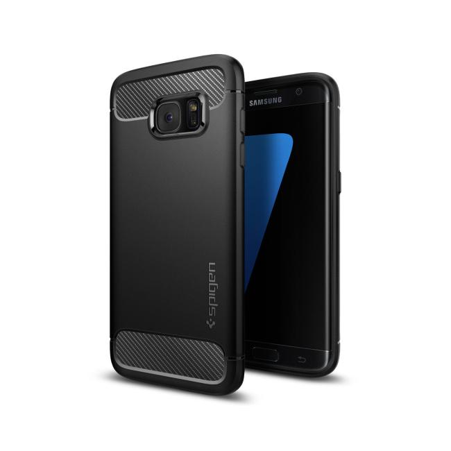 Image of   Spigen Rugged Armor cover til Samsung Galaxy S7 Edge