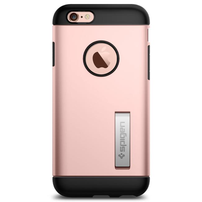 Image of   Spigen Slim Armor cover til iPhone 6/6S Rose Gold