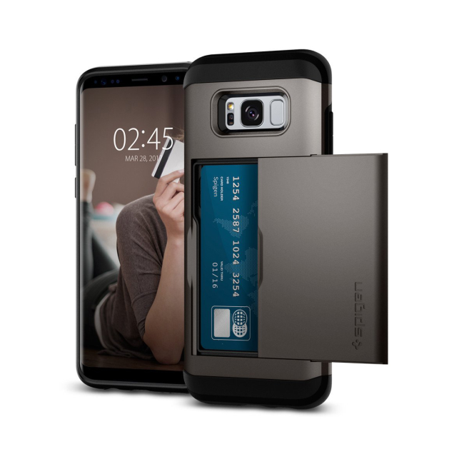 Image of   Spigen Slim Armor CS cover til Samsung Galaxy S8