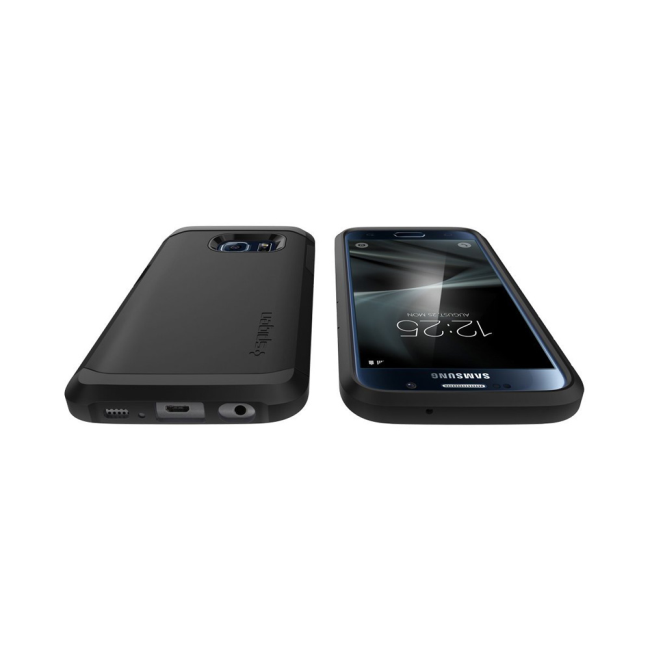 Image of   Spigen Tough Armor for Galaxy S7 black