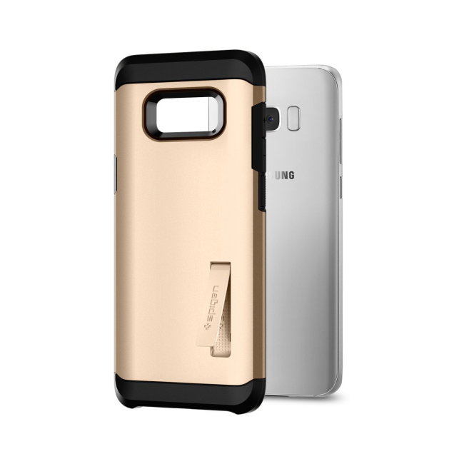 Spigen Tough Armor for Galaxy S8+ champagne gold