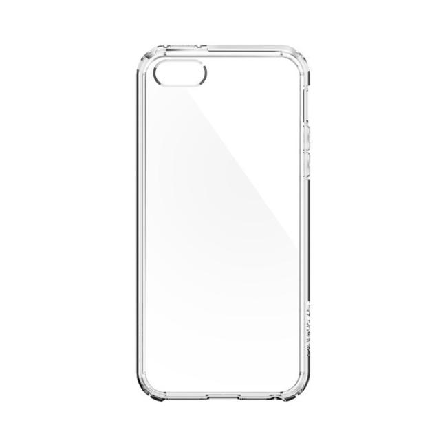 Image of   Spigen Ultra Hybrid cover til iPhone 5/5S/SE Clear/Crystal Clear