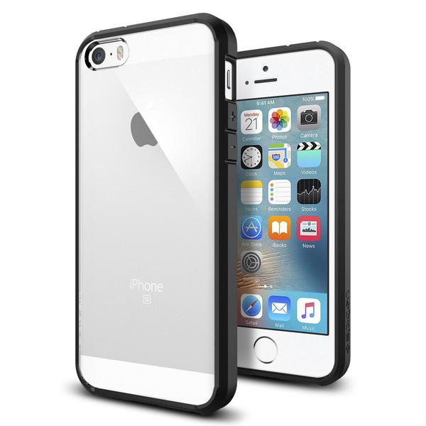 Image of   Spigen Ultra Hybrid cover til iPhone 5/5S/SE Sort