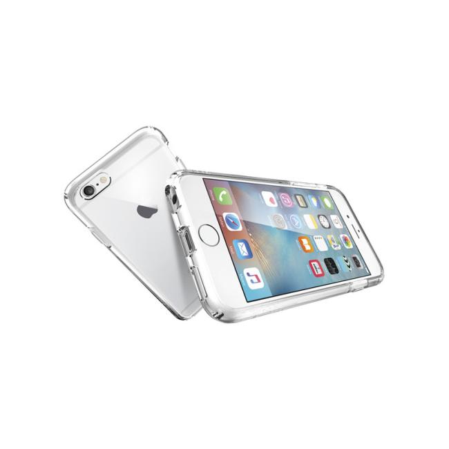 Image of   Spigen Ultra Hybrid cover til iPhone 6/6S Crystal Clear