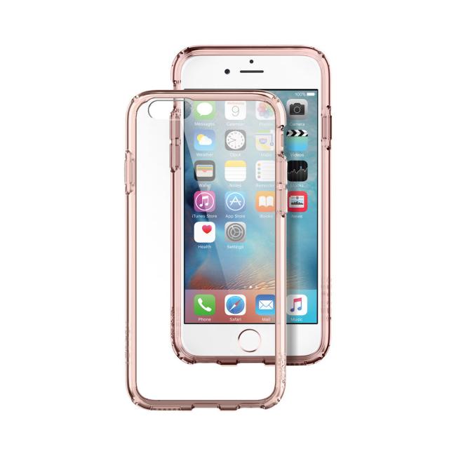 Image of   Spigen Ultra Hybrid cover til iPhone 6/6S Rose Crystal