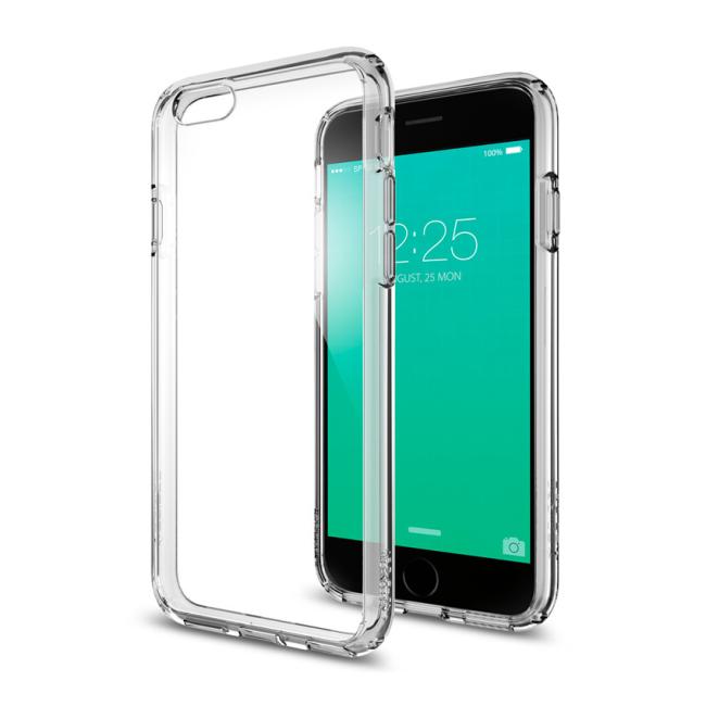 Image of   Spigen Ultra Hybrid cover til iPhone 6/6S Space Crystal