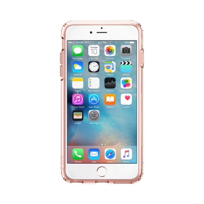 Image of   Spigen Ultra Hybrid cover til iPhone 6 Plus/6S Plus Rose Crystal