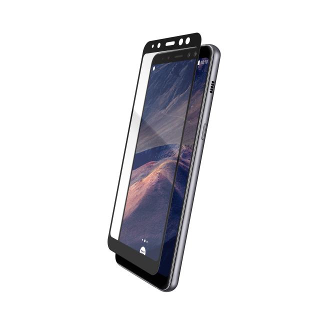 Billede af THOR Glass Full Screen for Galaxy A8 (2018) black