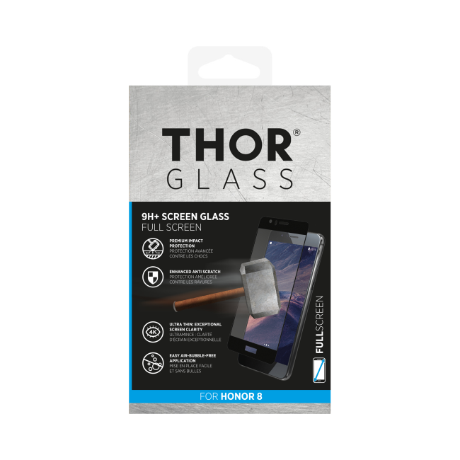 Billede af THOR Glass Full Screen for Honor 8 black