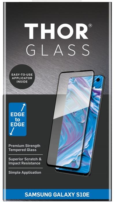Billede af Thor glass til Samsung Galaxy S10e Full-Screen med applikator Sort