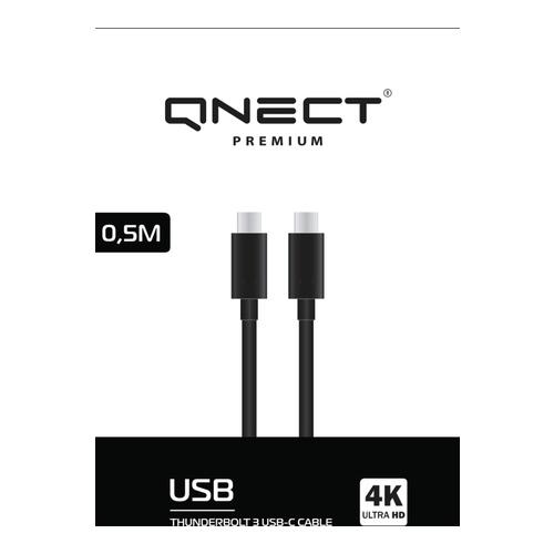 Image of   Thunderbolt 3 male - USB type C male 0.5m