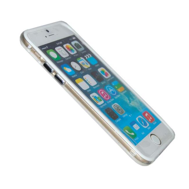 Image of   TPU Bumper iPhone 5/5S/SE Hvid/Transparent