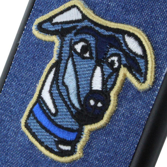Trussardi - TRU7JDOG - Hard Cover / Phone Case - Apple iPhone 7 - Dog Jeans
