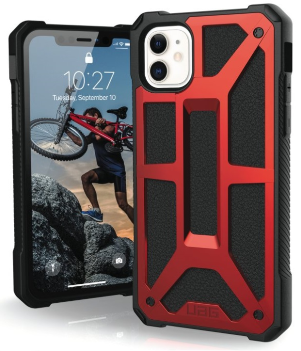 Image of   Apple iPhone 11 Cover UAG Monarch Carbon