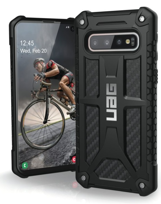 Image of   Samsung Galaxy S10 Cover UAG Monarch Carbon