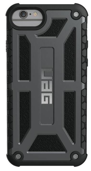 Billede af Urban Armor Gear Monarch Cover iPhone 7/6S/6 Mørkegrå/Sort