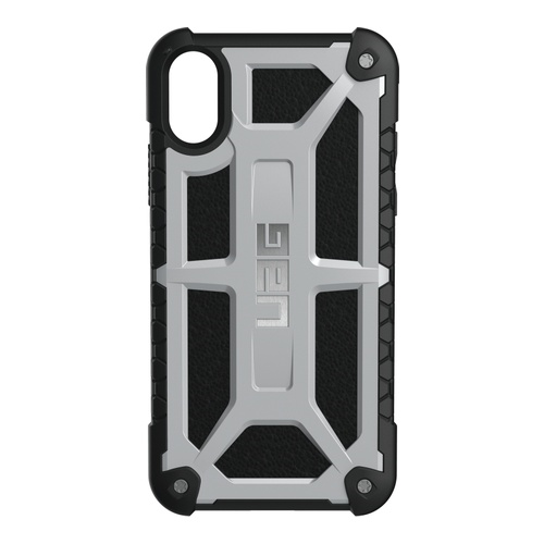 Image of   Urban Armor Gear Monarch Cover iPhone X Platin/Sort