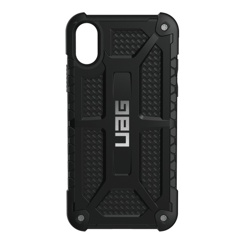 Image of   Urban Armor Gear Monarch Cover til iPhone X Carbon/Sort