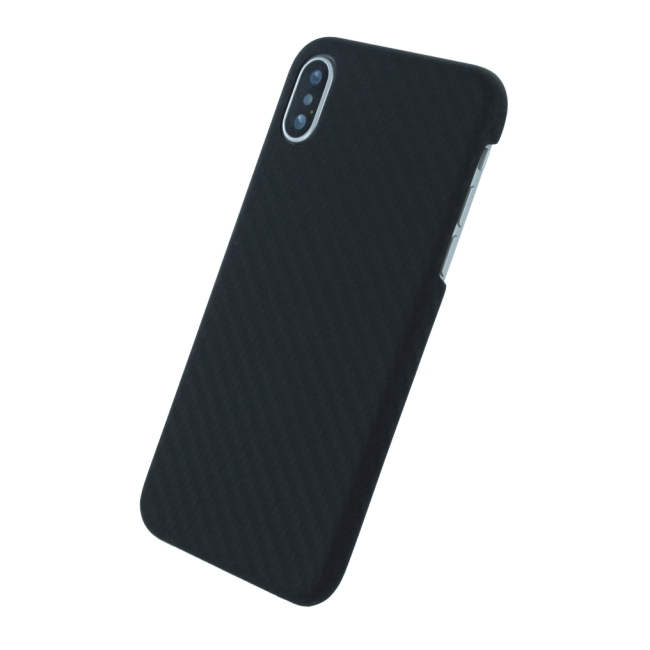 Billede af UreParts - Black Edition - Carbon Hard Cover - Apple iPhone X - Black