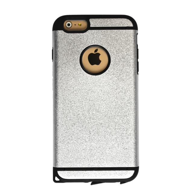 UreParts - Cool Armor - Hard Cover/ Hard Case - Apple iPhone 6 Plus - Silver