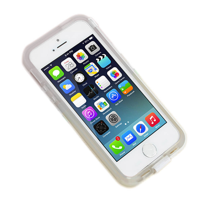 Image of   UreParts - Hard Cover/Case + USB charging cable - Apple iPhone 6 - White