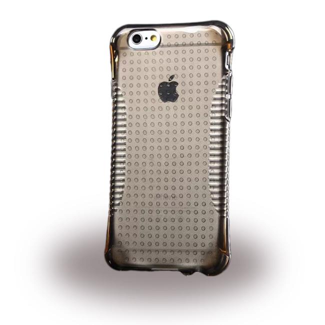 UreParts - TPU Cover / Case - Apple iPhone 6 6s - Transparent/ Black
