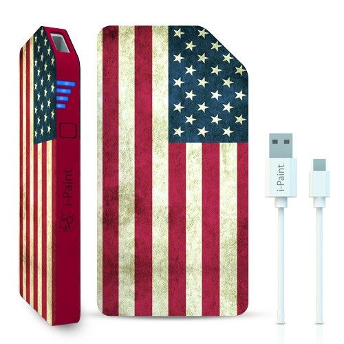 Image of   3000 mAh Powerbank / eksternt batteri 1A fra i-Paint USA