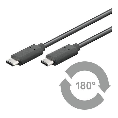USB 3.1 type C til USB 3.1 type C black 05m