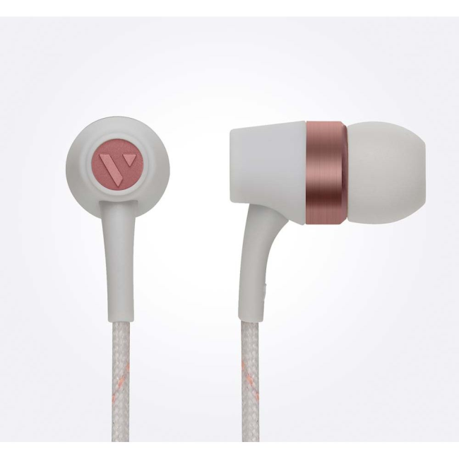 Image of   VAIN STHLM Originals In-Ear Earphones with Mic and Remote in Cloudy Grey