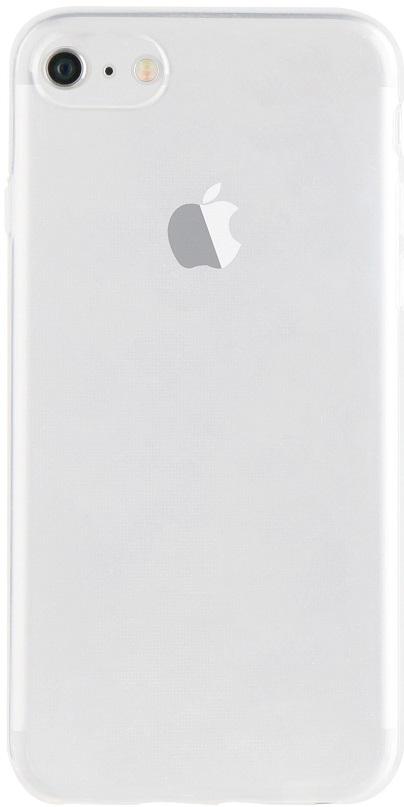 Billede af Xqisit Silikone Cover til iPhone 7 / 8 Gennemsigtigt