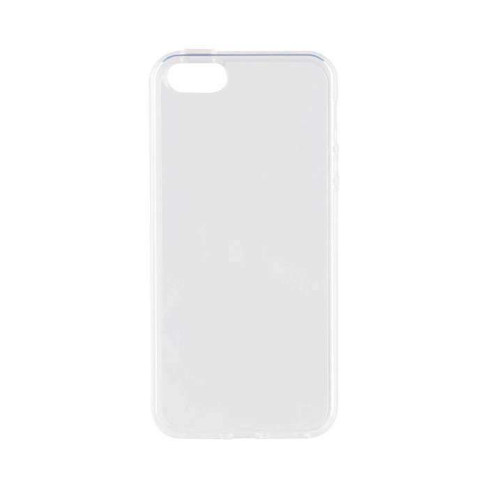 Image of   Xqisit Flex Case Silikone cover til Apple iPhone 5/5S/SE Gennemsigtig