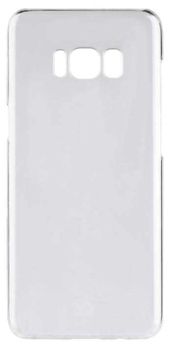 Image of   Xqisit Flex Case Silikone cover til Samsung Galaxy S8+ Gennemsigtig