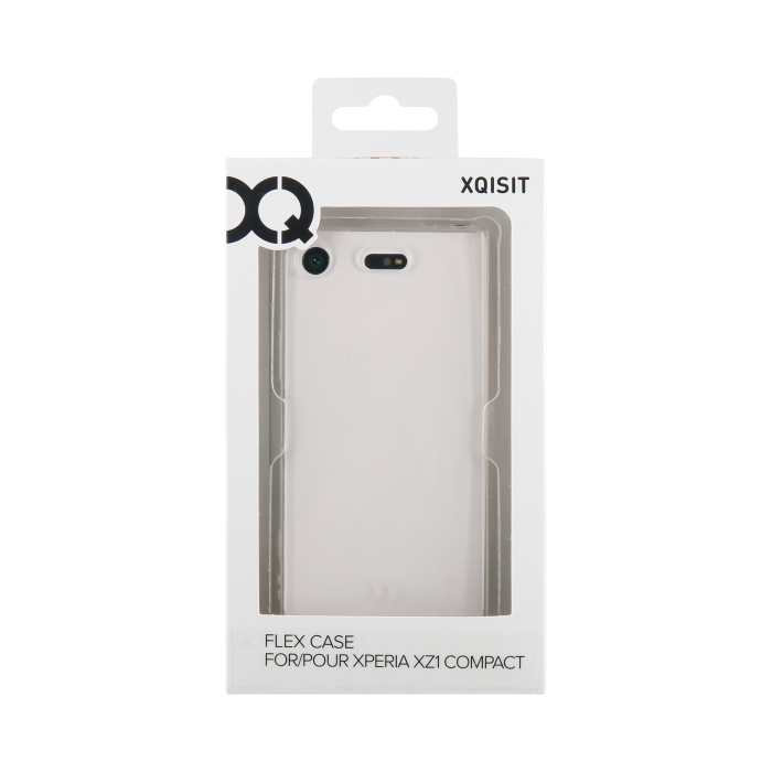 Image of   Xqisit Flex Case Silikone cover til Sony Xperia XZ1 Compact Gennemsigtig