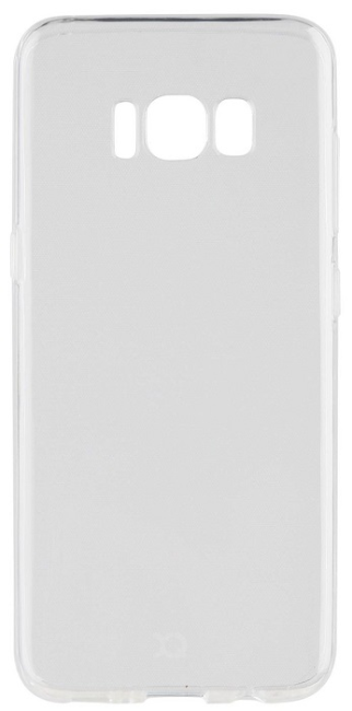 Image of   XQISIT Flex Cover til Samsung Galaxy S8 Transparent